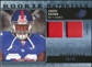 2009 Upper Deck SPx Rookie Materials Dual Swatch Patch #RMAB Andre Brown /99