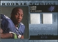 2009 Upper Deck SPx Rookie Materials Dual Swatch Patch #RMAC Aaron Curry /99