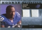 2009 Upper Deck SPx Rookie Materials Dual Swatch Patch #RMHN Hakeem Nicks /99