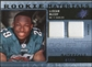 2009 Upper Deck SPx Rookie Materials Dual Swatch Patch #RMLM LeSean McCoy /99