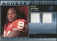 2009 Upper Deck SPx Rookie Materials Dual Swatch Patch #RMTJ Tyson Jackson /99