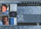 2009 Upper Deck SPx Winning Combos Patch #SP Matthew Stafford/Brandon Pettigrew /25