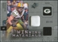 2009 Upper Deck SPx Winning Materials Patch #WAK Aaron Kampman /99