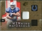 2009 Upper Deck SPx Winning Materials Patch #WDO Donald Brown /99