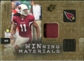 2009 Upper Deck SPx Winning Materials Patch #WLF Larry Fitzgerald /99