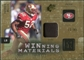 2009 Upper Deck SPx Winning Materials Patch #WPW Patrick Willis /99