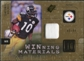 2009 Upper Deck SPx Winning Materials Patch #WSH Santonio Holmes /99