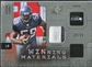 2009 Upper Deck SPx Winning Materials Patch Platinum #WAC Aaron Curry /25