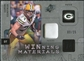 2009 Upper Deck SPx Winning Materials Patch Platinum #WAK Aaron Kampman /25