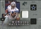 2009 Upper Deck SPx Winning Materials Patch Platinum #WBA Marion Barber /25
