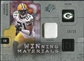 2009 Upper Deck SPx Winning Materials Patch Platinum #WCW Charles Woodson /25