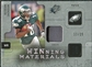 2009 Upper Deck SPx Winning Materials Patch Platinum #WDJ DeSean Jackson /25