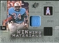 2009 Upper Deck SPx Winning Materials Patch Platinum #WEC Earl Campbell /25