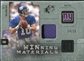 2009 Upper Deck SPx Winning Materials Patch Platinum #WEM Eli Manning /25
