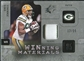2009 Upper Deck SPx Winning Materials Patch Platinum #WGJ Greg Jennings /25