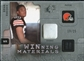 2009 Upper Deck SPx Winning Materials Patch Platinum #WIE Brian Robiskie /25