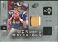 2009 Upper Deck SPx Winning Materials Patch Platinum #WMB Marc Bulger /25