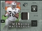 2009 Upper Deck SPx Winning Materials Patch Platinum #WMC Darren McFadden /25