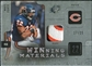 2009 Upper Deck SPx Winning Materials Patch Platinum #WMF Matt Forte /25