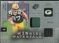 2009 Upper Deck SPx Winning Materials Patch Platinum #WNE Jordy Nelson /25