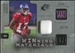 2009 Upper Deck SPx Winning Materials Patch Platinum #WPB Plaxico Burress /25
