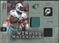 2009 Upper Deck SPx Winning Materials Patch Platinum #WRB Ronnie Brown /25
