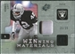 2009 Upper Deck SPx Winning Materials Patch Platinum #WRL Ronnie Lott /25