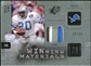 2009 Upper Deck SPx Winning Materials Patch Platinum #WSI Billy Sims /25