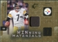 2009 Upper Deck SPx Winning Materials Patch #WRO Ben Roethlisberger /99