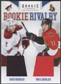 2011/12 Panini Rookie Anthology #20 David Rundblad & Mika Zibanejad Rookie Rivalry Dual Jersey