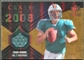 2008 Upper Deck Icons Class of 2008 Jersey Gold #CO8 Chad Henne /75