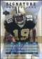 2004 Upper Deck Foundations Signature Foundations #SFDV Devery Henderson Autograph