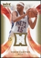 2008/09 Upper Deck Hot Prospects Hot Materials #HMVC Vince Carter