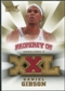 2008/09 Upper Deck Hot Prospects Property of Jerseys #PODG Daniel Gibson /199