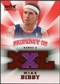 2008/09 Upper Deck Hot Prospects Property of Jerseys Red #POMB Mike Bibby 21/25