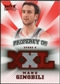 2008/09 Upper Deck Hot Prospects Property of Jerseys Red #POMG Manu Ginobili 21/25