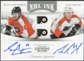 2011/12 Panini Contenders NHL Ink Duals #3 Sean Couturier/Matt Read Autograph