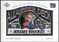 2003 UD Patch Collection All Upper Deck Patches #UD7 Jeremy Shockey