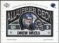 2003 UD Patch Collection All Upper Deck Patches #UD21 Drew Brees