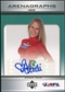 2006 Upper Deck AFL Arenagraphs #DHE Dancer: Heidi Autograph