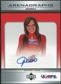2006 Upper Deck AFL Arenagraphs #DJS Dancer: Jessica Autograph