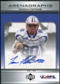 2006 Upper Deck AFL Arenagraphs #TF Tacoma Fontaine Autograph