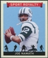 2007 Upper Deck Goudey Sport Royalty #JN Joe Namath