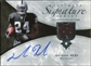2006 Upper Deck Ultimate Collection Game Jersey Autographs #ULTMH Michael Huff Autograph /35