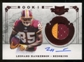 2011 Panini Plates and Patches #226 Leonard Hankerson RC Jersey Autograph 54/499