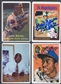 Hank Aaron Signature Series Porcelain Baseball Card Collection Auto #030/755