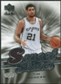 2007/08 Upper Deck Sweet Shot Sweet Stitches #TD Tim Duncan