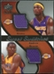 2007/08 Upper Deck Sweet Shot Sweet Swatches Dual #BB Kwame Brown/Andrew Bynum