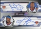 2004/05 Upper Deck SP Authentic Signatures Dual #CA Jamal Crawford Trevor Ariza /25