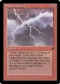Magic the Gathering Legends Single Chain Lightning - MODERATE PLAY (MP)